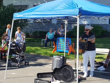 New Tastes (and Sounds) at the Market