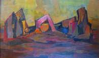 223. Paysage Abstrait.