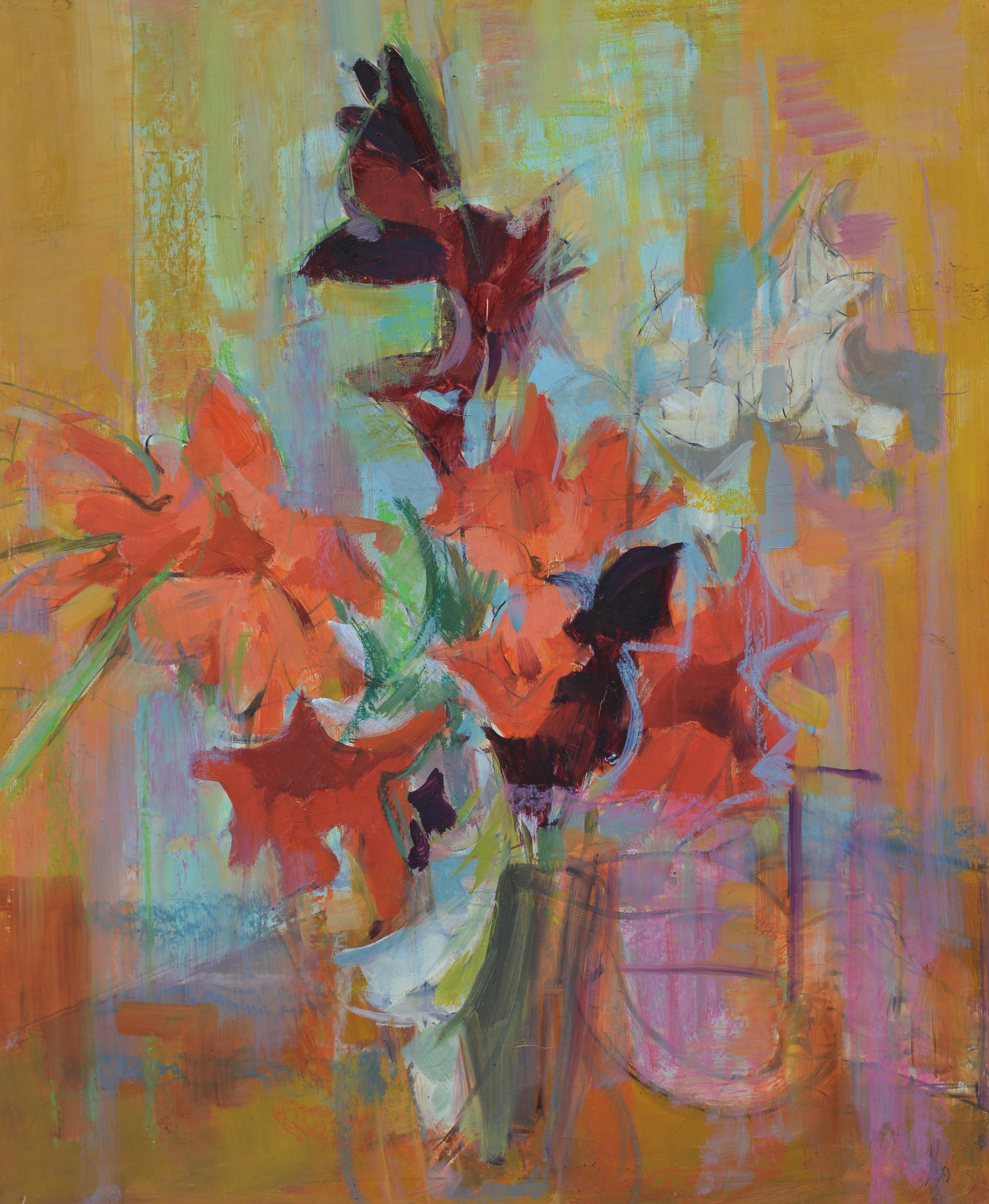 Fleurs. Isorel. 678. 73x60