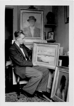 Paul Mondain tableau USA