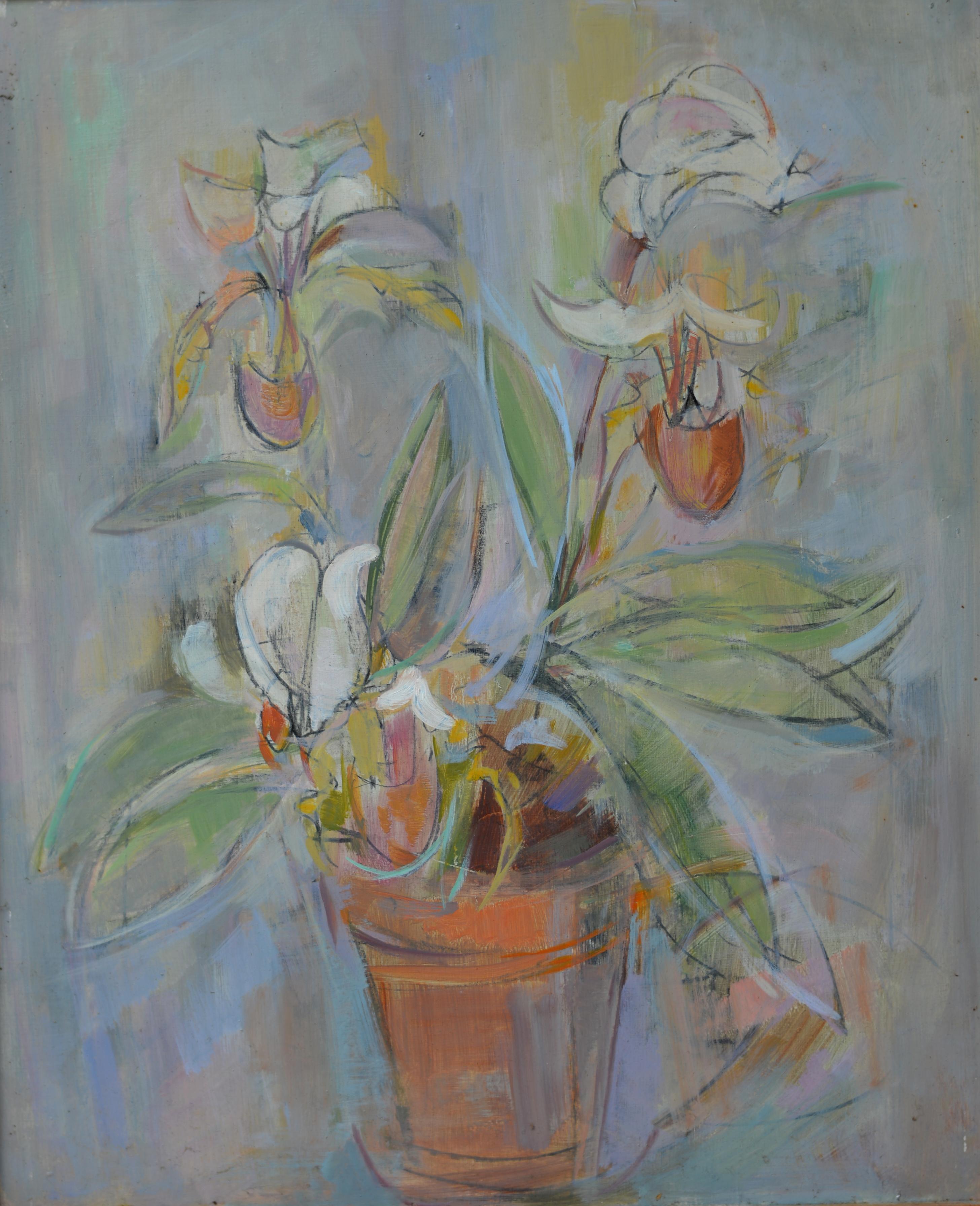 Fleurs. Isorel. 585. 60,5x50