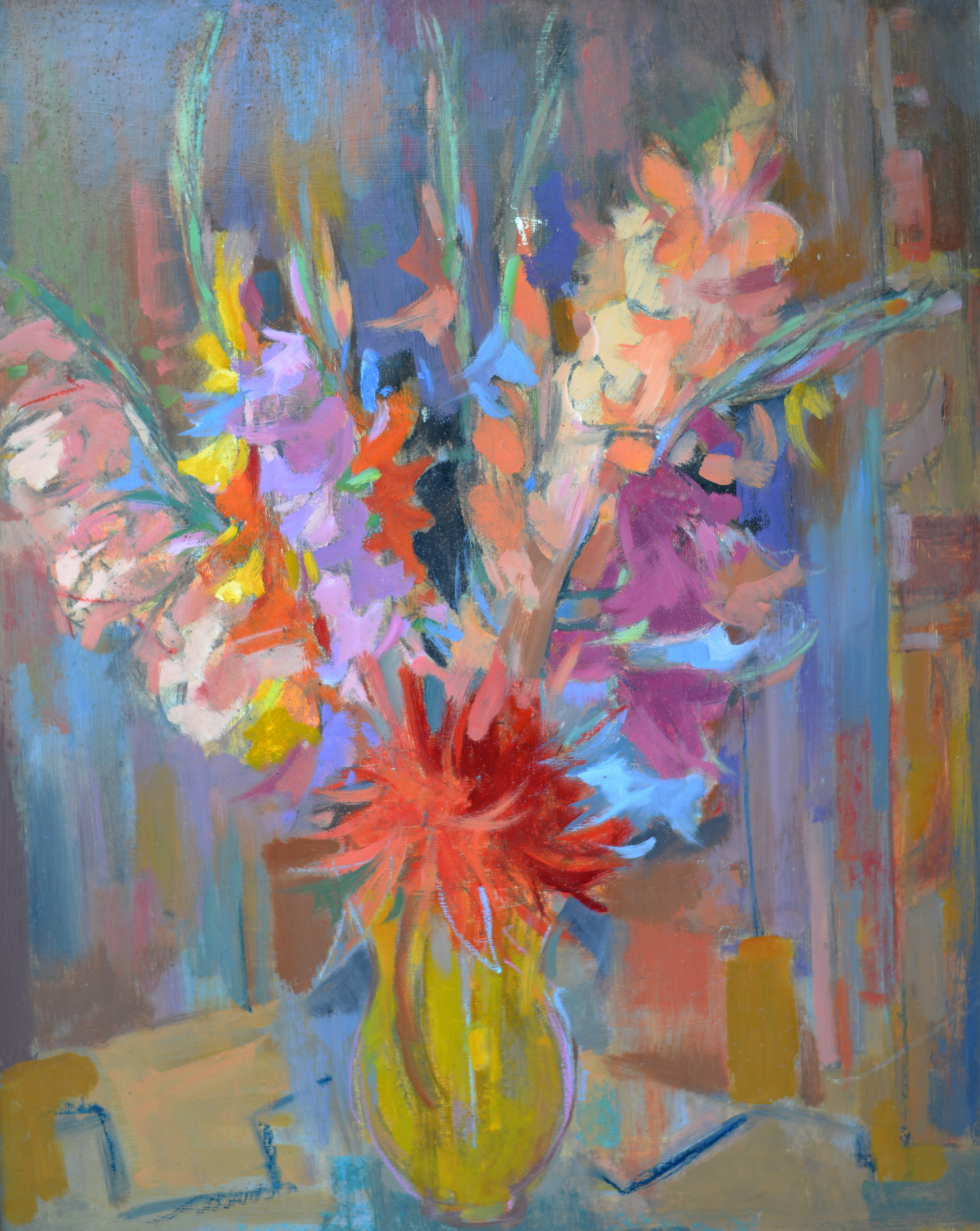 Fleurs. Isorel. 498 A. 80x65