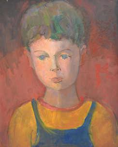 573. L'enfant Thierry Karp-Mondain.