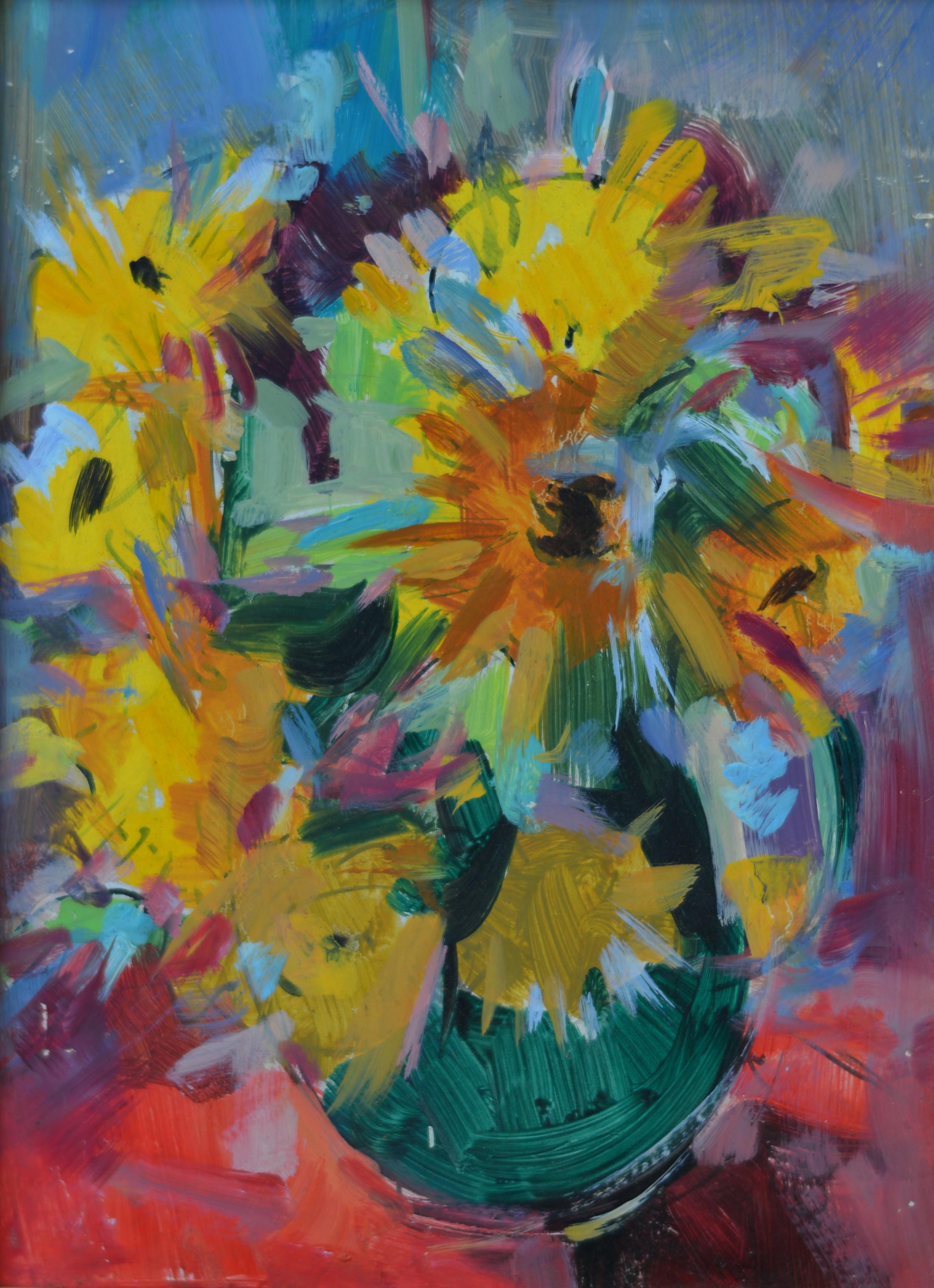 Fleurs. Isorel. 761. 32,5x24