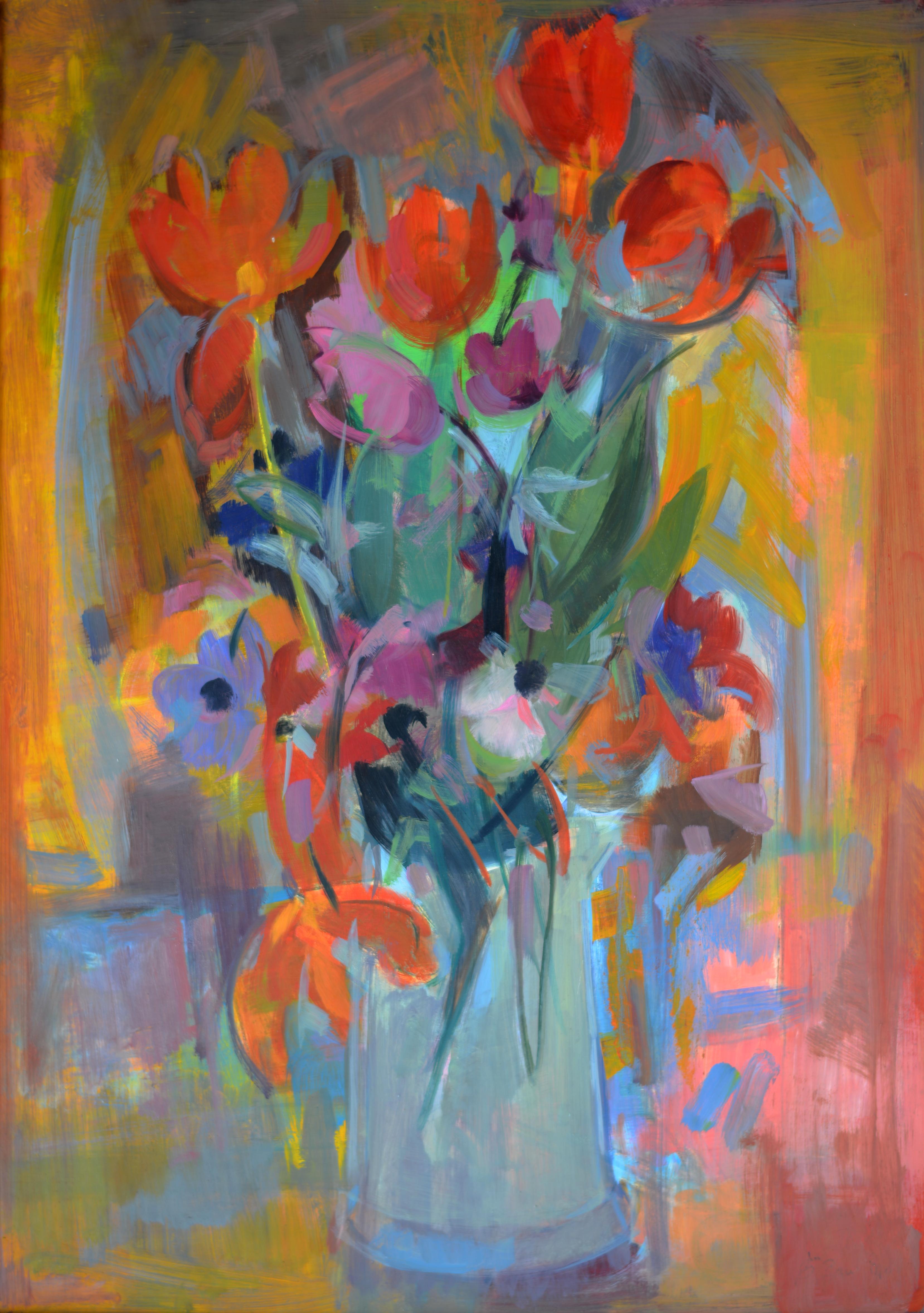 Tulipes. Isorel. 222. 90,5x65