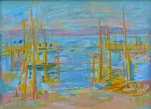 471. Bateaux sur la Mer.