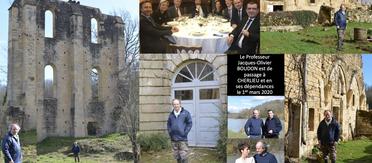 Visite du Professeur Jacques-Olivier BOUDON