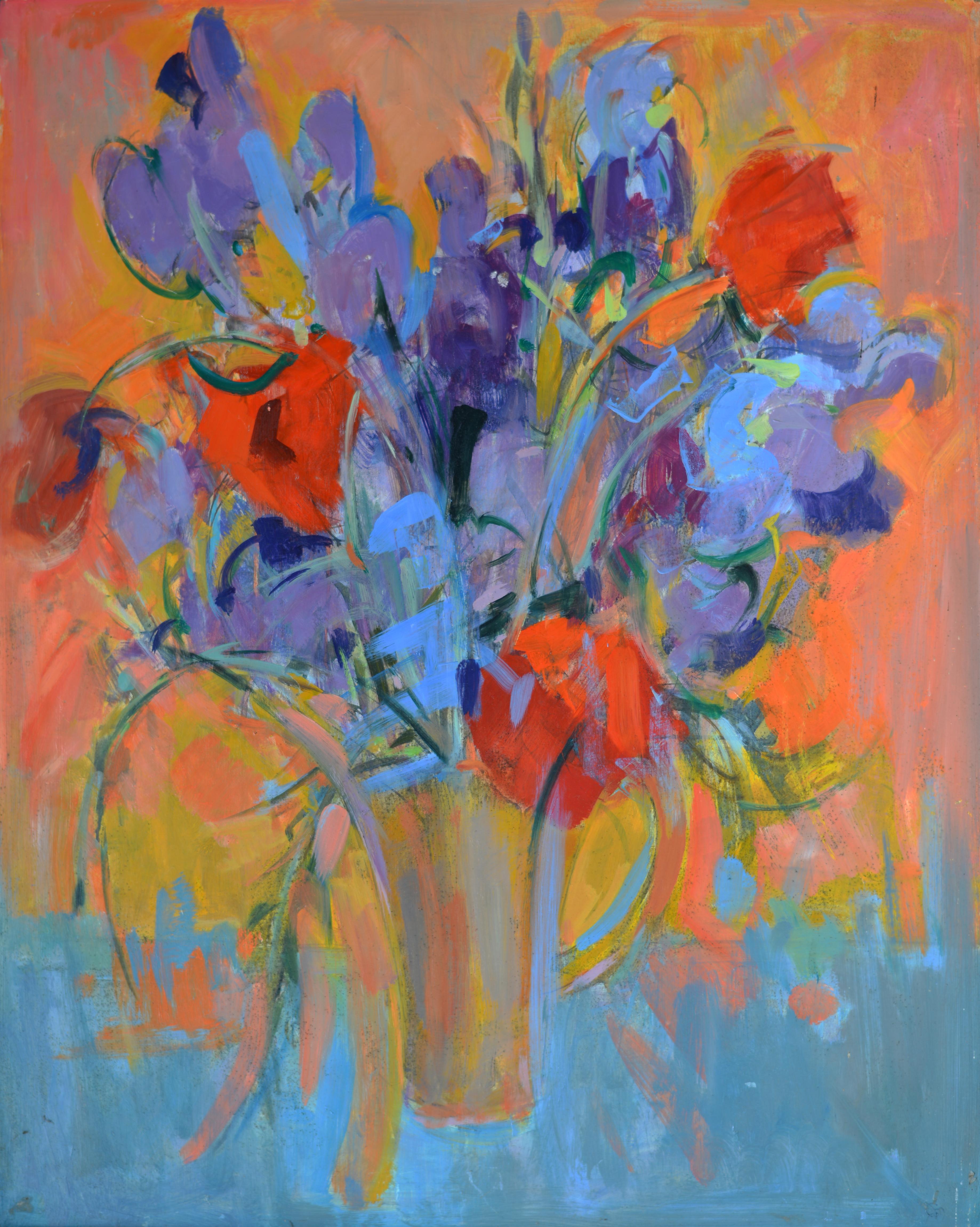 Fleurs. Isorel. 524 B. 91x73
