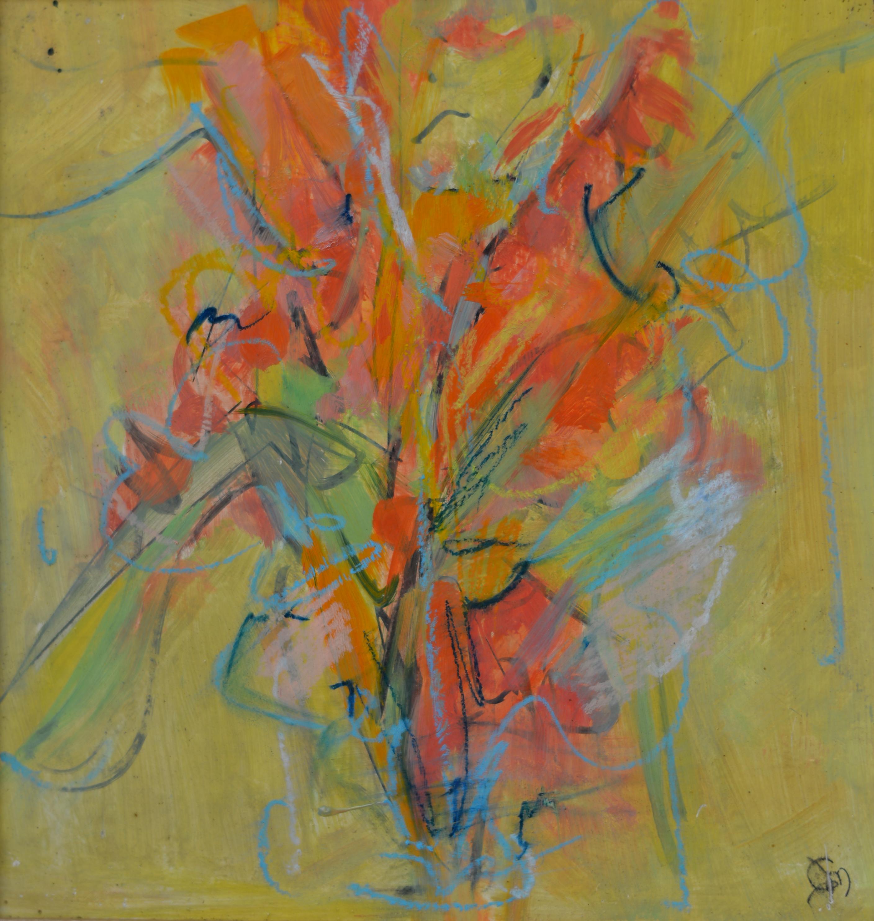 Fleurs. Isorel. 762. 31x30