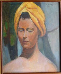 923 . Femme au turban.