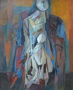 263 A. Mère et enfant.