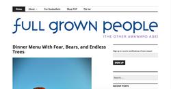 full grown people