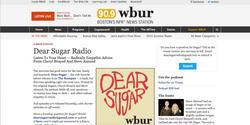 """WBUR's """"Dear Sugar"""""""