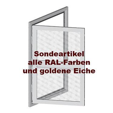 Fliegengitter-Drehtür mit Rahmen