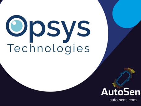 Opsys joins AutoSens 2020