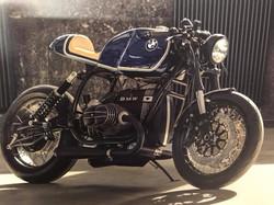 Motorradsattel_beiges Leder