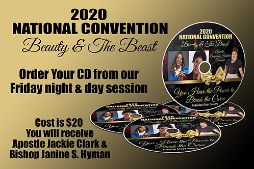CWA 2020 National Convention Day One CD Set