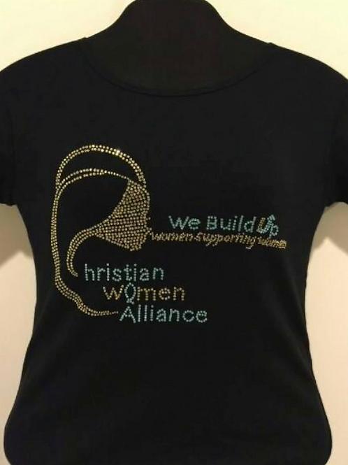 CWA Custom Bling T-shirt