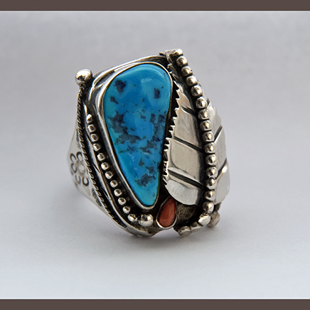 Cycle of Life turquoise ring