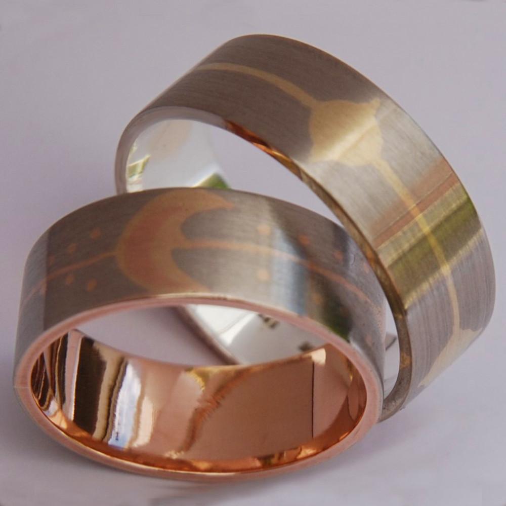 Ojibwe wedding rings Gimishoomisinaan idash Nookomis Ni'mi'idiwag