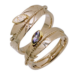 Clarity Fills Our Hearts rings