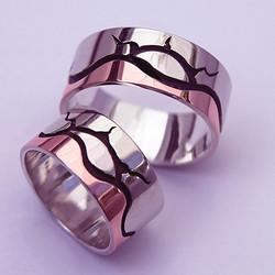 Ojibwe Wedding rings Gichigami