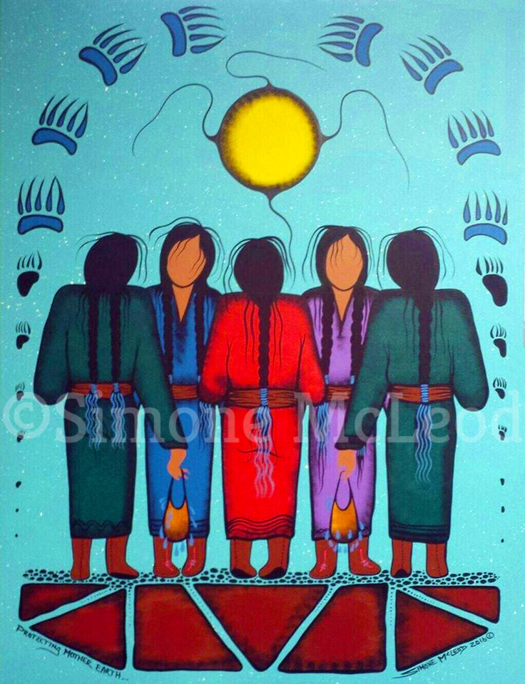 Simone McLeod Protecting Mother Earth
