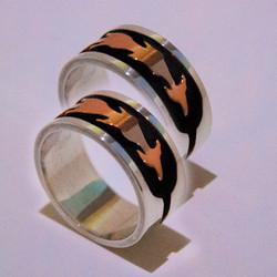 Wedding rings Thunder Mountain