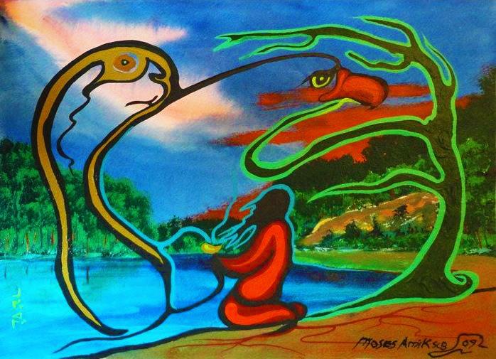 Moses Amik Wind of Life Zhaawano Giizhik