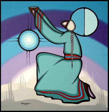 Bebaminojmat (Leland Bell) art