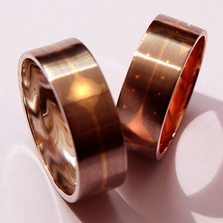Ojibwe Wedding rings They Dance Together