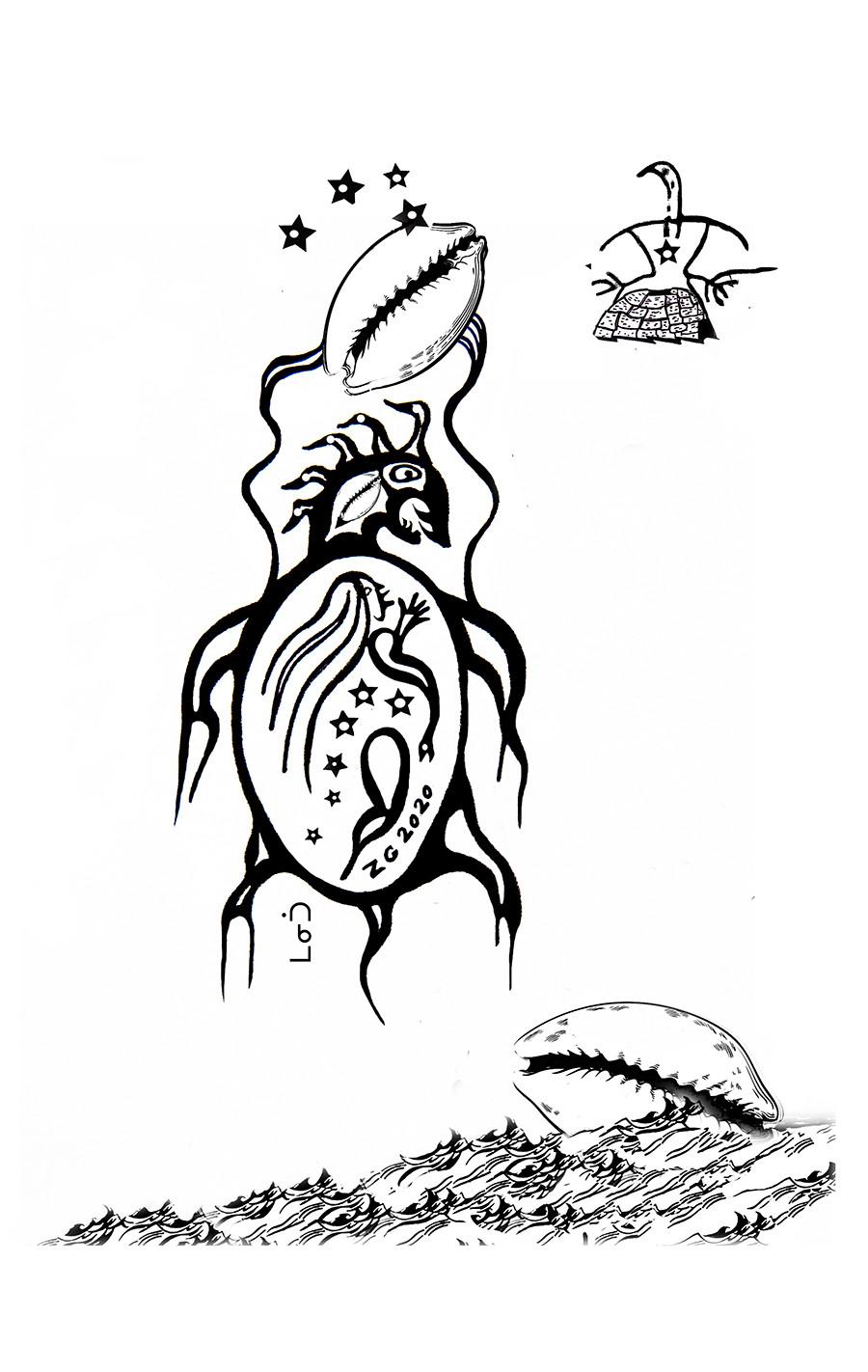 Journey of the Two Spirit Woman by Zhaawano Giizhik