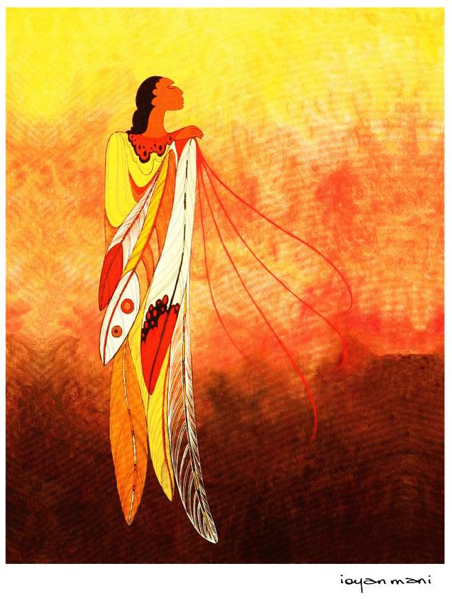 Eagle feather spirit