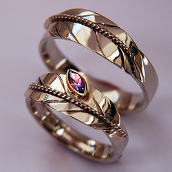 Dialogue with the Cosmos ring set