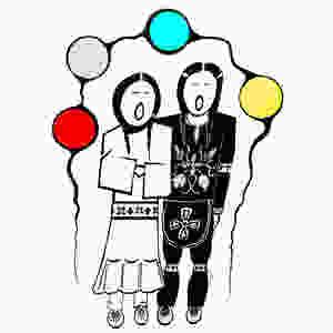Ojibwe Wiidigendiwin Mino-waawiinjigaade - Ojibwe marriage by Zhaawano Giizhik