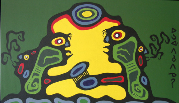 Spirits Energy Transformation Norval Morrisseau