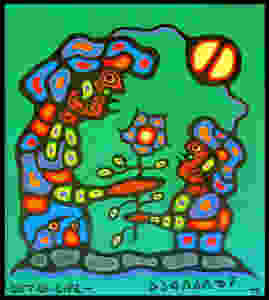 Norval Morrisseau Gift of Life