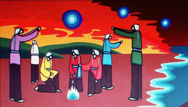 Bebaminojmat Leland Bell Mural Survival