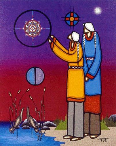 Painting by Bebaminojmat.