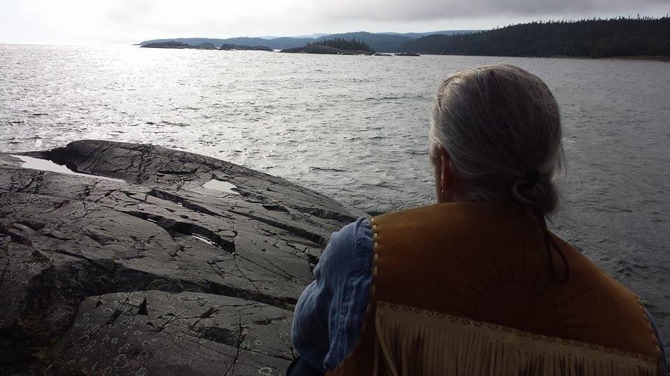 Zhaawano Giizhik at Michipicoten Bay, Lake Superior