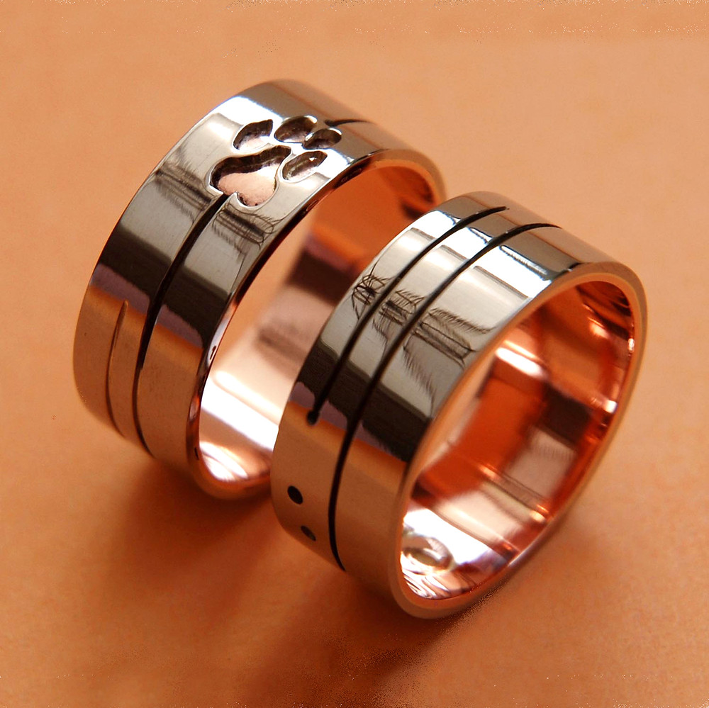 Ojibwe style wedding bands We Are All Related
