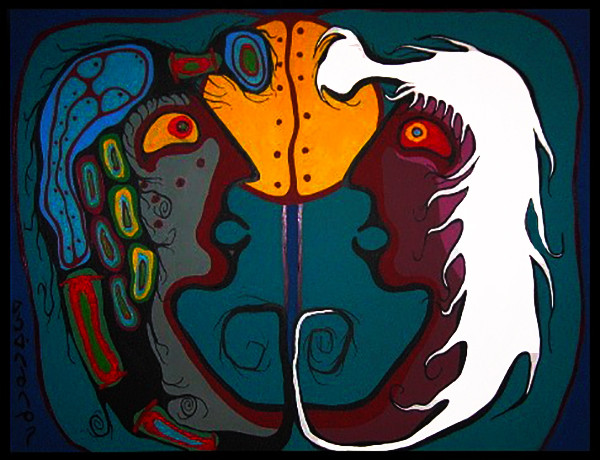 Duality by Norval Morrisseau