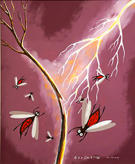 Carl Ray Mosquitoes Hit with Thunderbird Lightning