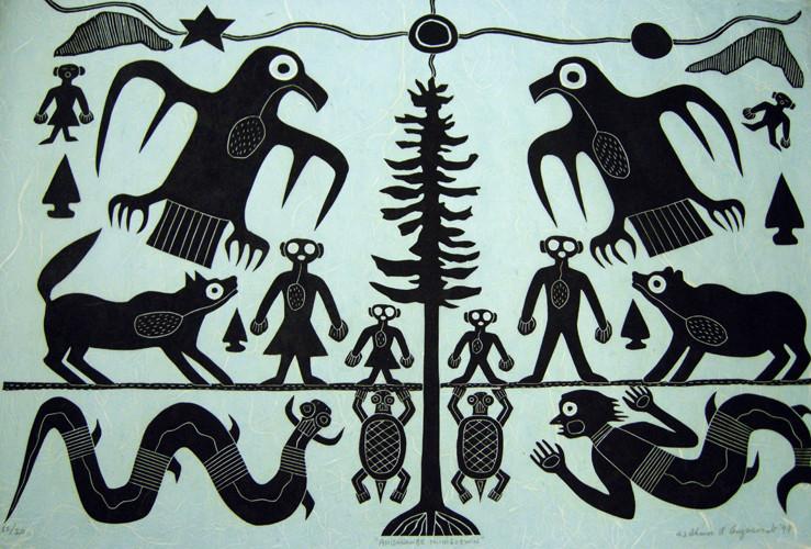 The Tree of Life by Ahmoo Angeconeb