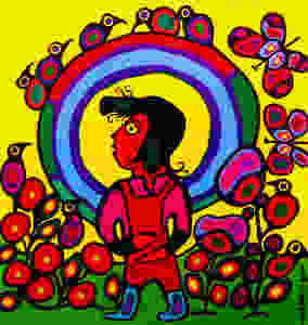 Child With Halo by Norval Morrisseau