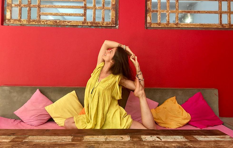 Yoga Dieulefit Mélanie Veyrond