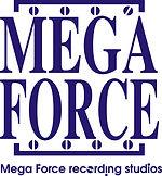 強力錄音室Mega Force Studio Logo(白底).JPG