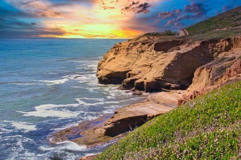 Sunset Beach Cliffs