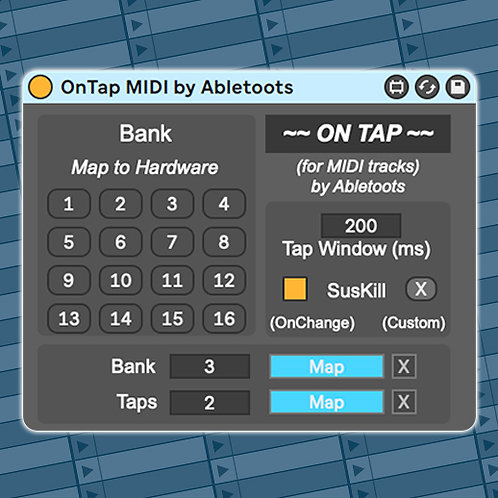 OnTap | Max4Live Bank and Patch Selector