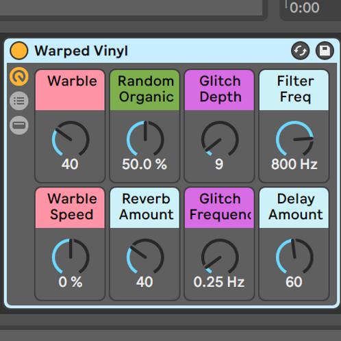Warped Vinyl | A LoFi Effect